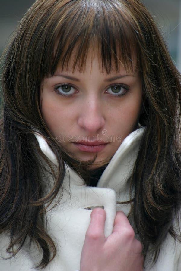 Download πορτρέτο κοριτσιών στοκ εικόνες. εικόνα από συνηθισμένο - 104134