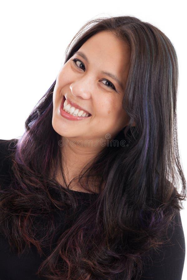 Ασιατικό πορτρέτο γυναικών στοκ εικόνες με δικαίωμα ελεύθερης χρήσης