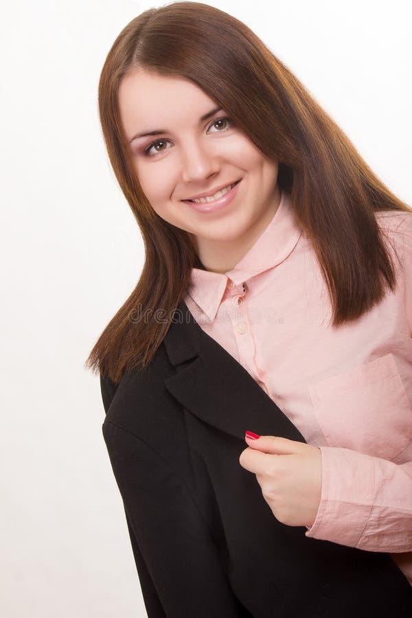 Πορτρέτο μιας όμορφης νέας γυναίκας στοκ φωτογραφία