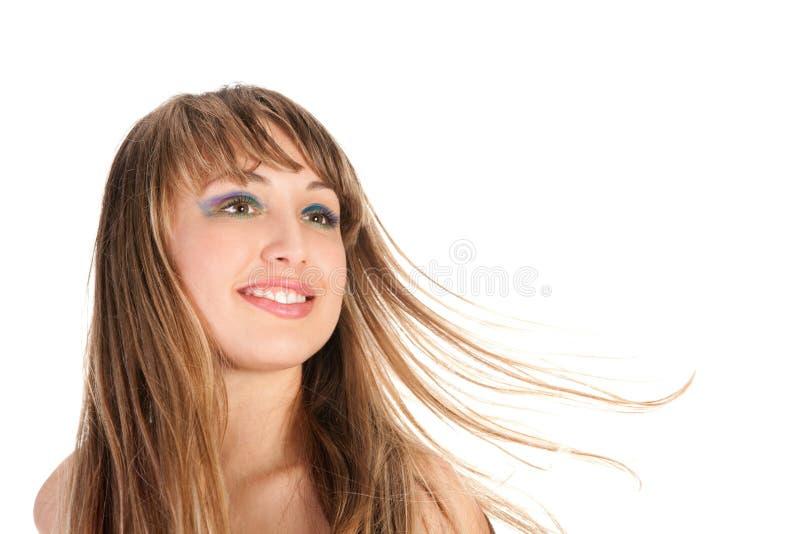 Πορτρέτο μόδας του όμορφου ξανθού κοριτσιού στοκ εικόνες