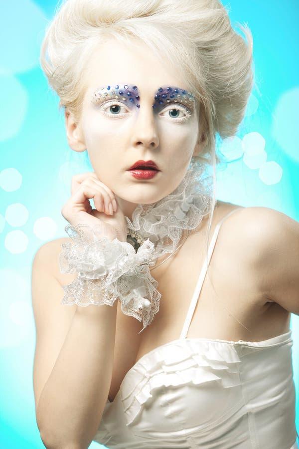 Πορτρέτο μόδας στοκ φωτογραφία με δικαίωμα ελεύθερης χρήσης