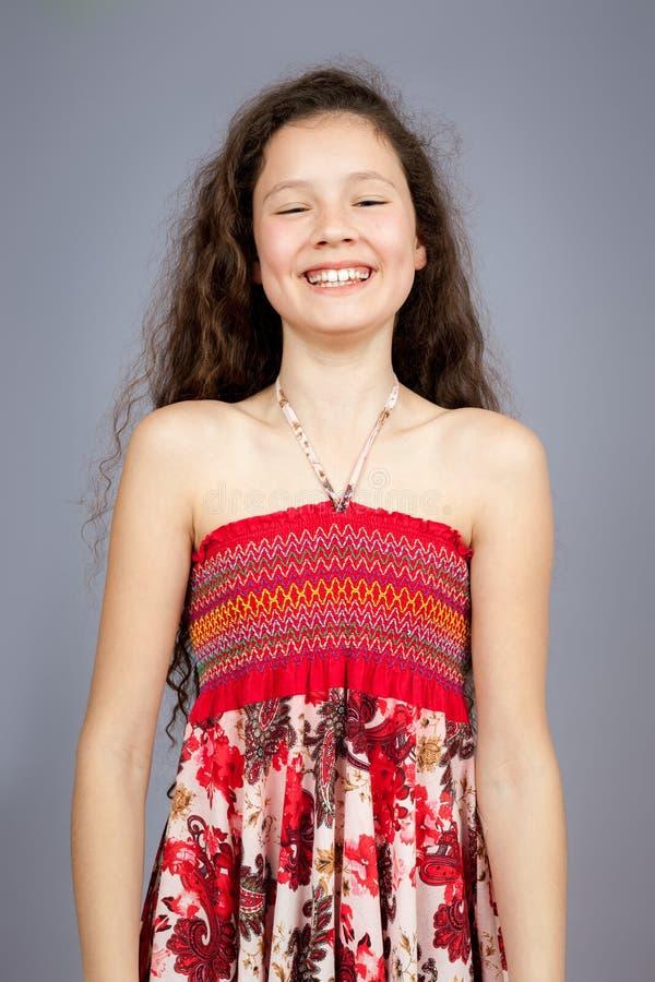 Πορτρέτο νέων κοριτσιών στοκ εικόνα με δικαίωμα ελεύθερης χρήσης