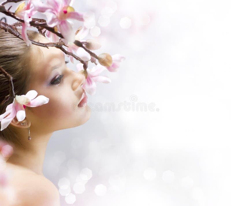 πορτρέτο ομορφιάς στοκ εικόνες με δικαίωμα ελεύθερης χρήσης