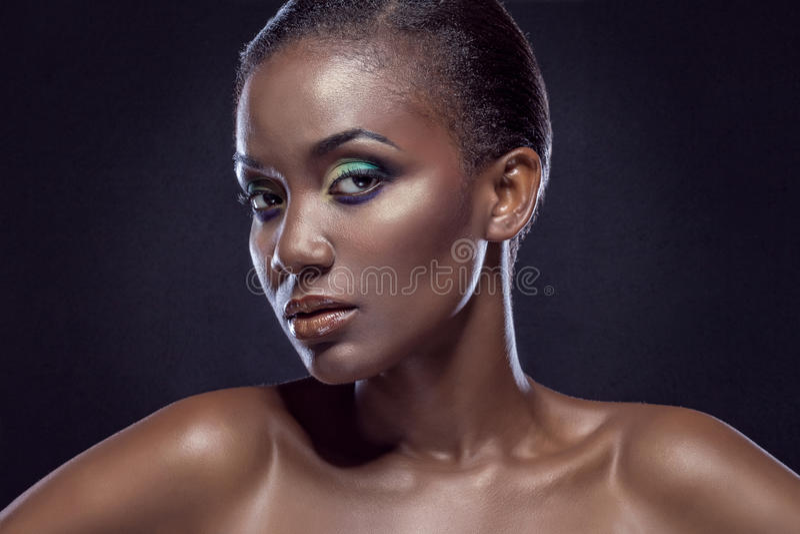 Πορτρέτο ομορφιάς στοκ εικόνα με δικαίωμα ελεύθερης χρήσης