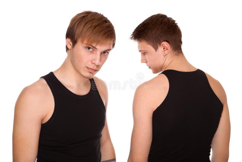 Δύο τύποι στοκ φωτογραφία με δικαίωμα ελεύθερης χρήσης