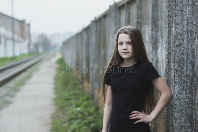 Πορτρέτο στα αστικά κατώφλια στοκ εικόνα με δικαίωμα ελεύθερης χρήσης