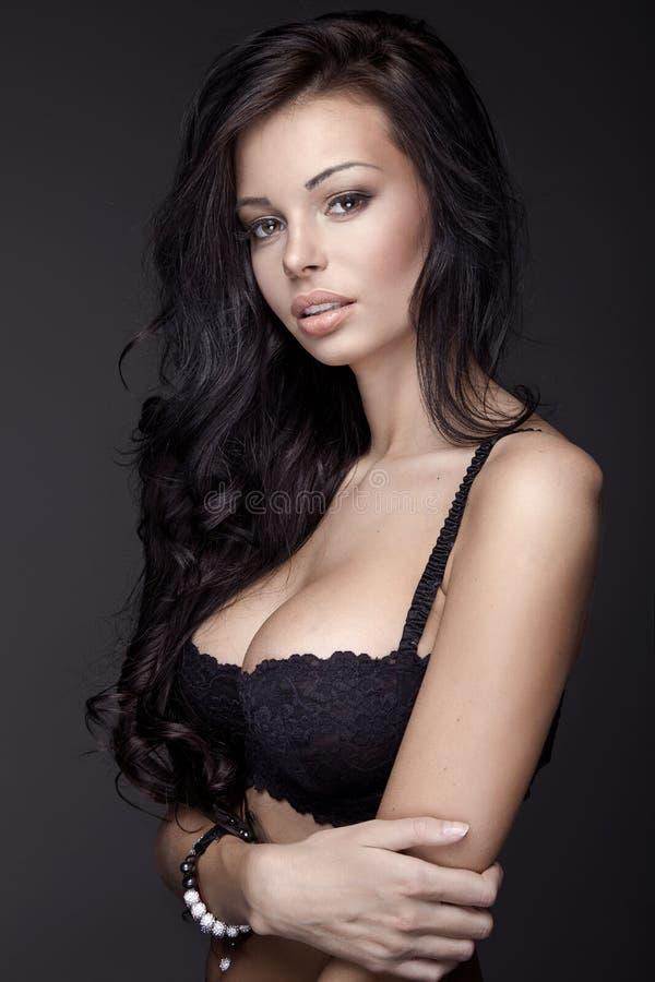 Πορτρέτο της γυναίκας brunette στοκ φωτογραφία