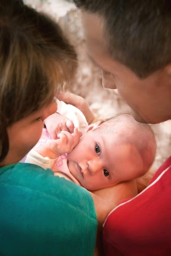 Πορτρέτο της οικογένειας. στοκ φωτογραφίες