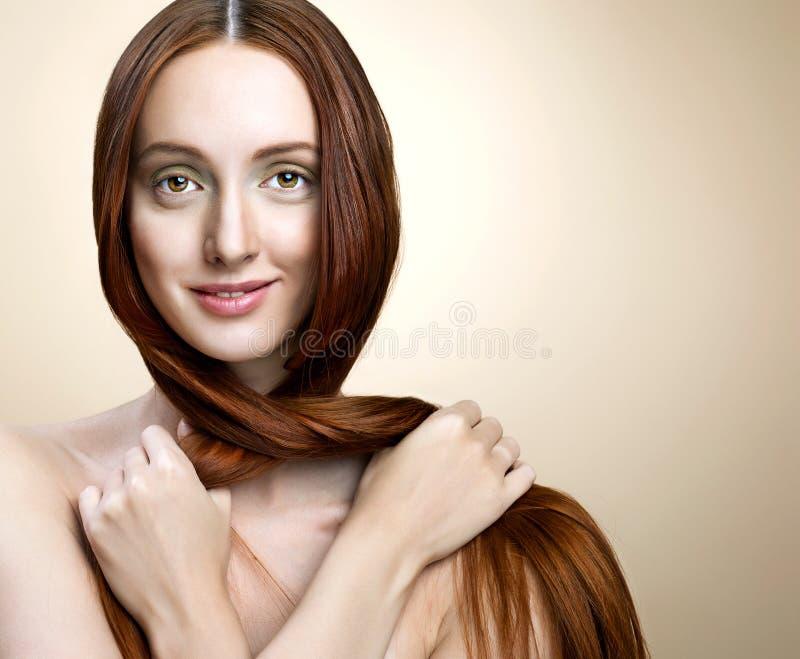 Πορτρέτο της προκλητικής γυναίκας στοκ εικόνες με δικαίωμα ελεύθερης χρήσης