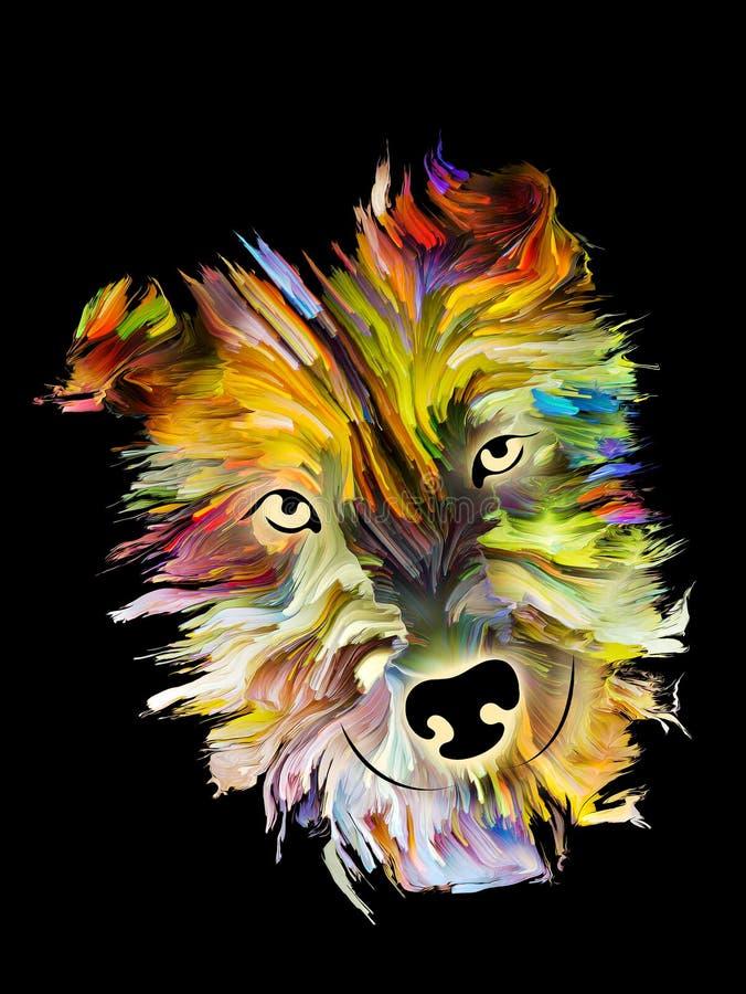 Πορτρέτο της Pet ελεύθερη απεικόνιση δικαιώματος