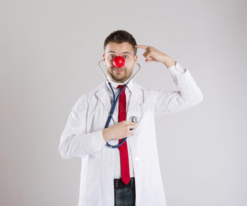 Αστείος γιατρός στοκ φωτογραφία