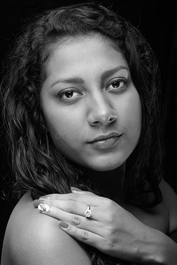 Πορτρέτο του λατίνου κοριτσιού στοκ φωτογραφία με δικαίωμα ελεύθερης χρήσης