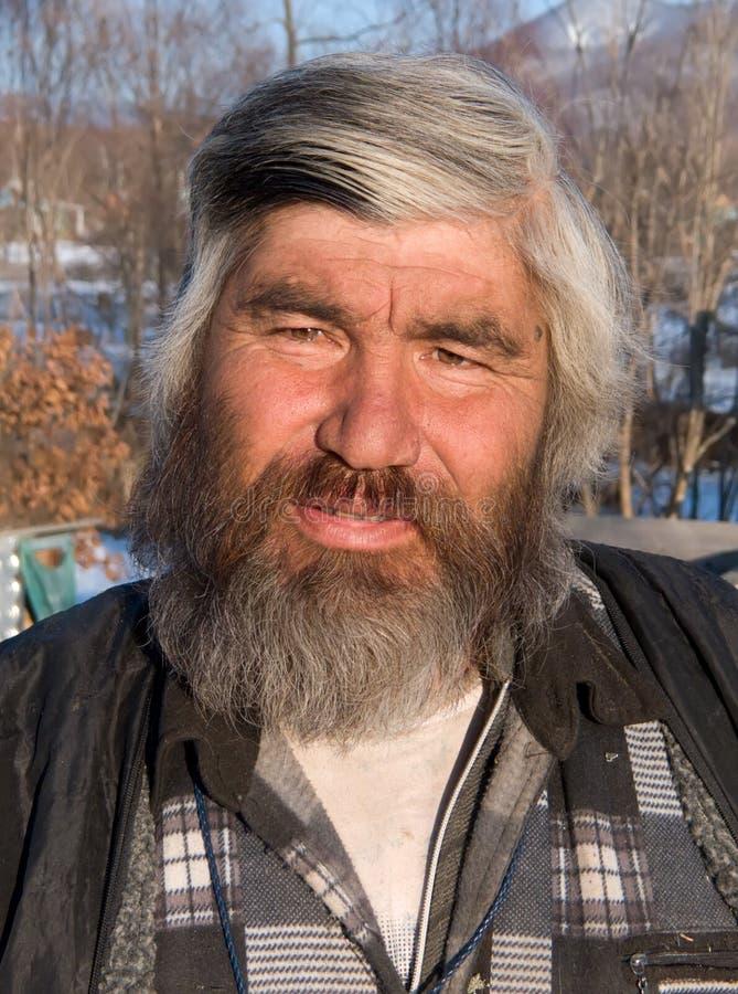 Πορτρέτο του ατόμου με τη γενειάδα 22 στοκ εικόνες
