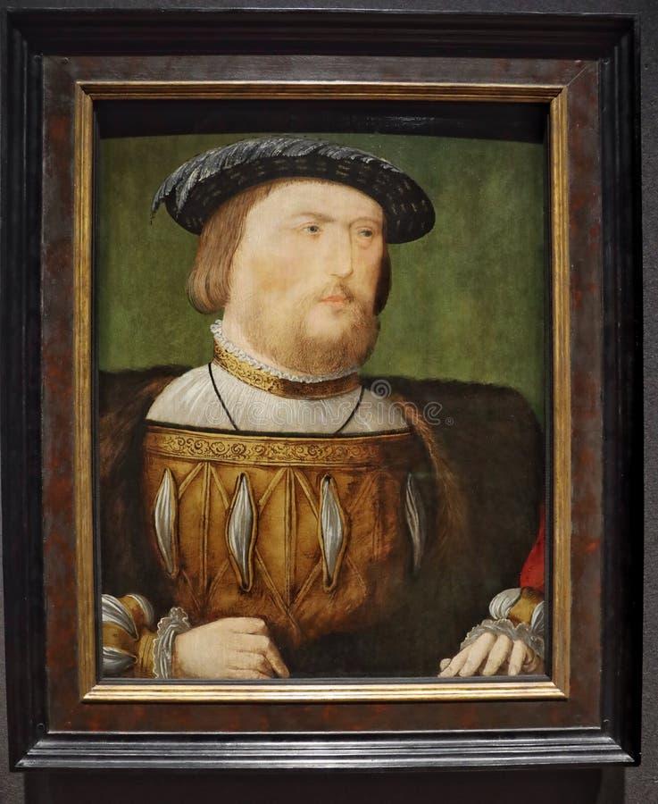Πορτρέτο του βασιλιά Henry VIII στοκ φωτογραφία με δικαίωμα ελεύθερης χρήσης