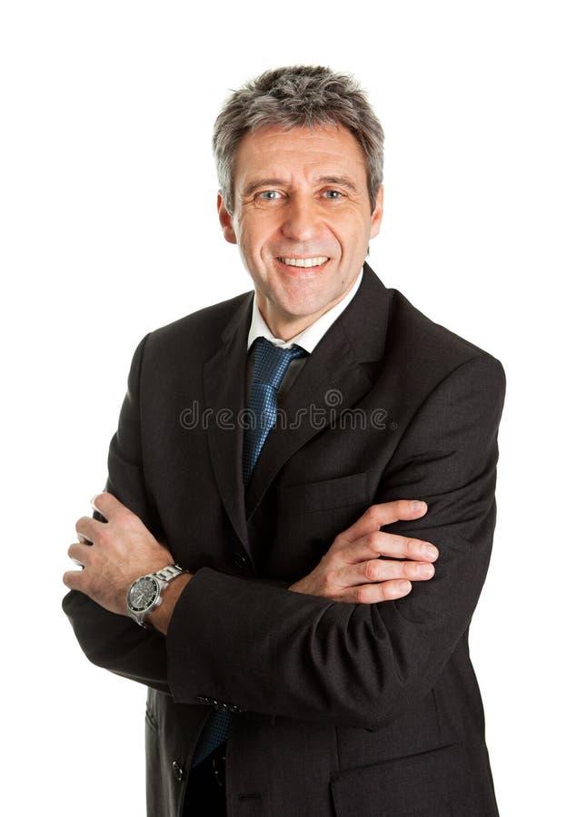 Πορτρέτο του επιτυχούς επιχειρησιακού ατόμου στοκ εικόνες με δικαίωμα ελεύθερης χρήσης