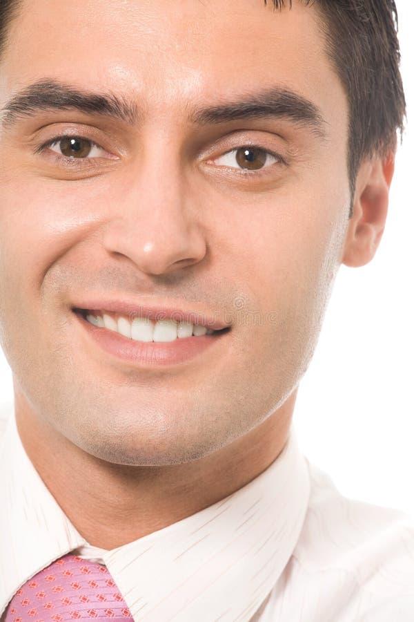 Πορτρέτο του επιχειρηματία, που απομονώνεται στοκ εικόνα