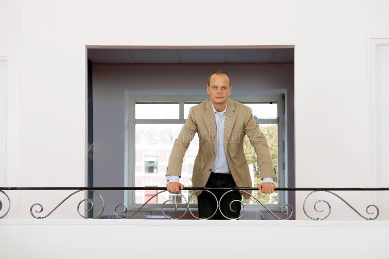 Πορτρέτο του επιχειρησιακού ατόμου στοκ εικόνες