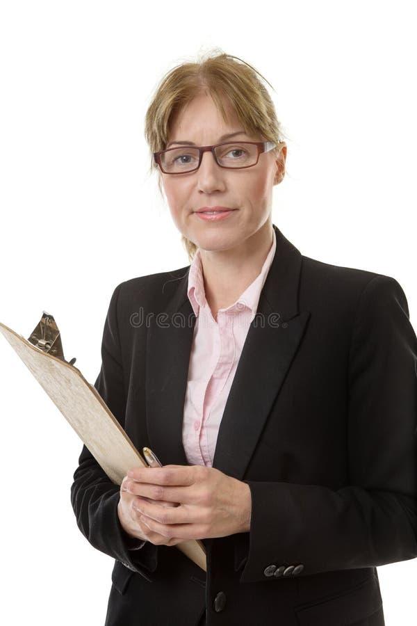 Πορτρέτο του εργαζομένου γραφείων στοκ εικόνα με δικαίωμα ελεύθερης χρήσης