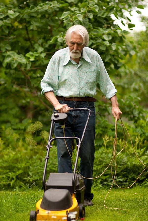 Πορτρέτο του ηλικιωμένου ατόμου στοκ εικόνες