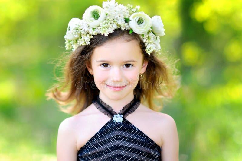Πορτρέτο του μικρού κοριτσιού στοκ φωτογραφία