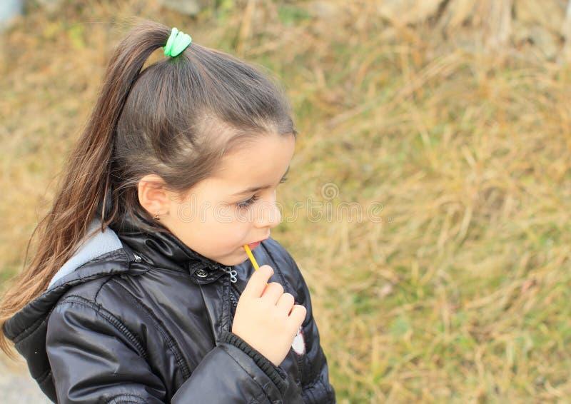Πορτρέτο του μικρού κοριτσιού στοκ φωτογραφία με δικαίωμα ελεύθερης χρήσης