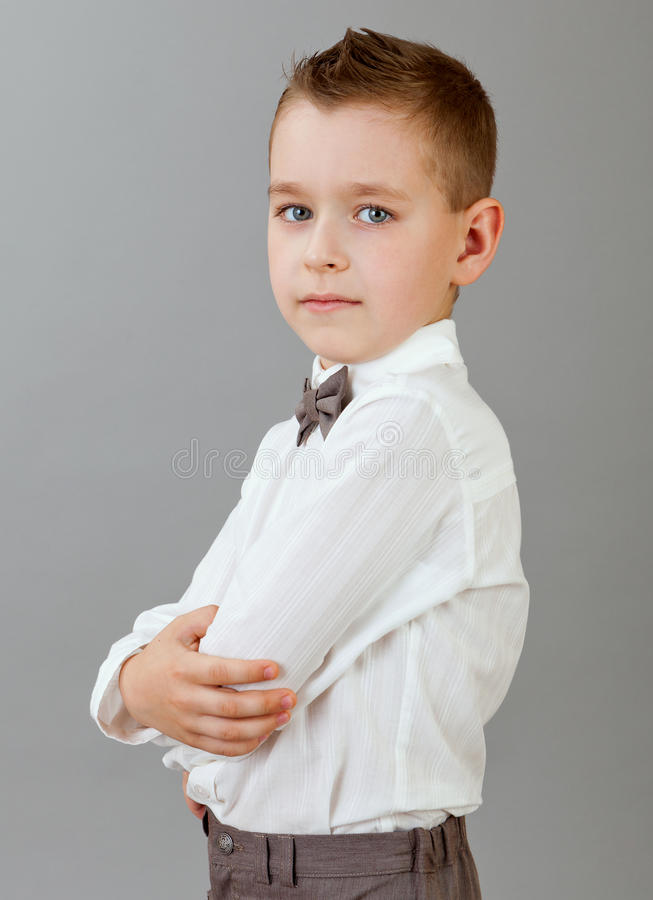 Πορτρέτο του μικρού παιδιού στοκ φωτογραφίες