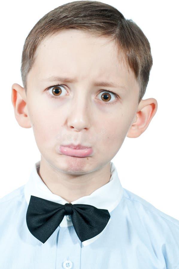 Πορτρέτο του νέου αγοριού. στοκ φωτογραφία με δικαίωμα ελεύθερης χρήσης
