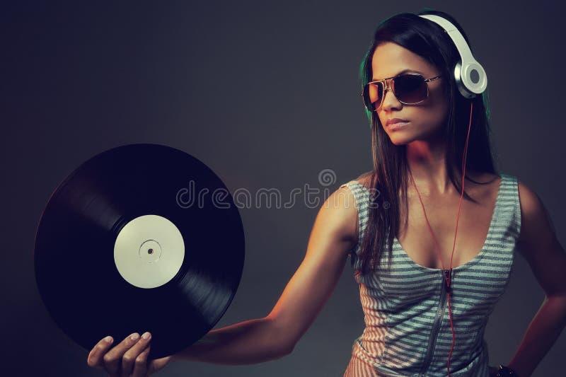 Πορτρέτο του DJ στοκ εικόνα με δικαίωμα ελεύθερης χρήσης
