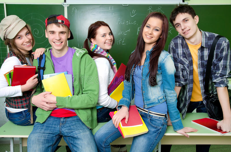 Σπουδαστές στοκ φωτογραφίες με δικαίωμα ελεύθερης χρήσης