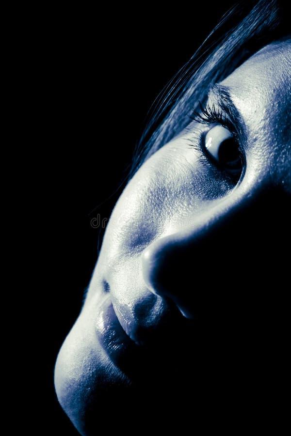 πορτρέτο φωτισμού στοκ φωτογραφία