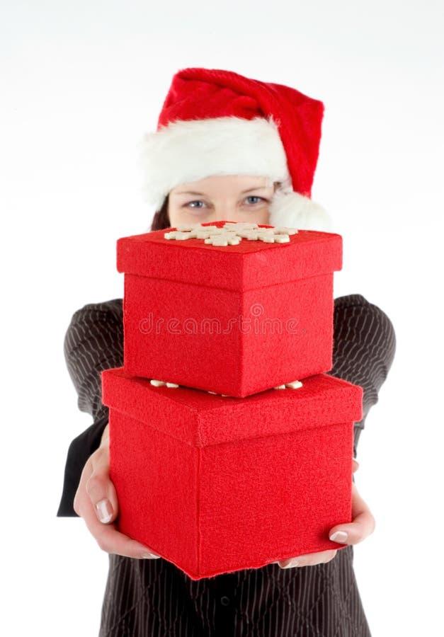 πορτρέτο Χριστουγέννων στοκ εικόνα με δικαίωμα ελεύθερης χρήσης