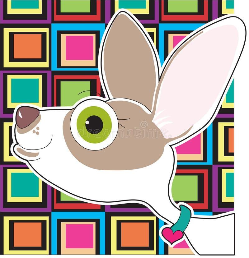 Download πορτρέτο chihuahua απεικόνιση αποθεμάτων. εικονογραφία από πρόσωπο - 22778408
