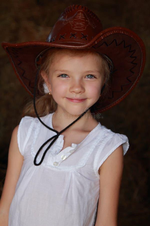 Πορτρέτο Cowgirl στοκ φωτογραφίες