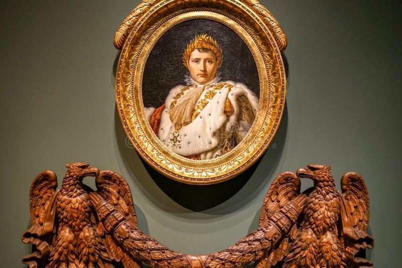 Πορτρέτο Napoleon στο μουσείο MBAM στοκ εικόνες με δικαίωμα ελεύθερης χρήσης