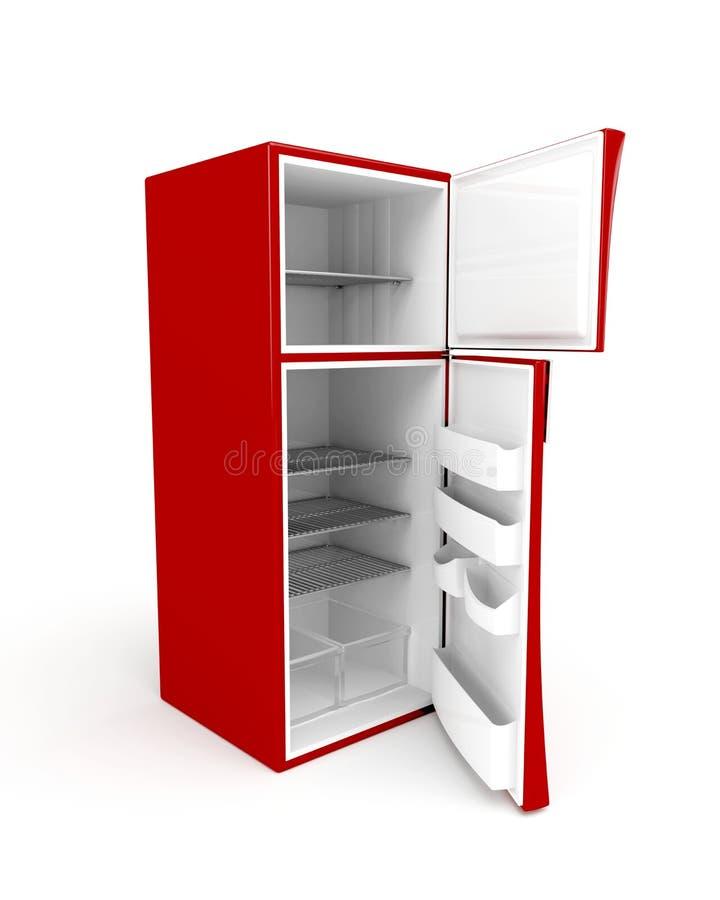 πορτών ψυγείο που ανοίγο διανυσματική απεικόνιση