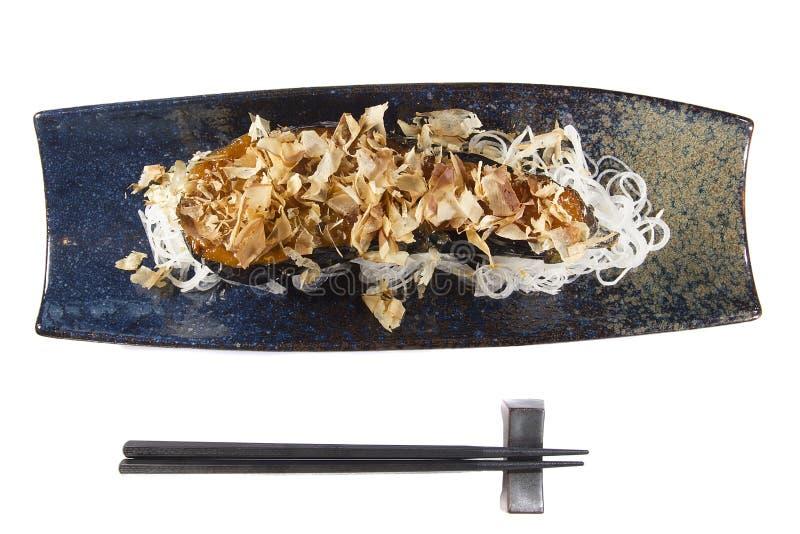 Πορφυρά ιαπωνικά τρόφιμα μελιτζάνας στοκ φωτογραφία με δικαίωμα ελεύθερης χρήσης