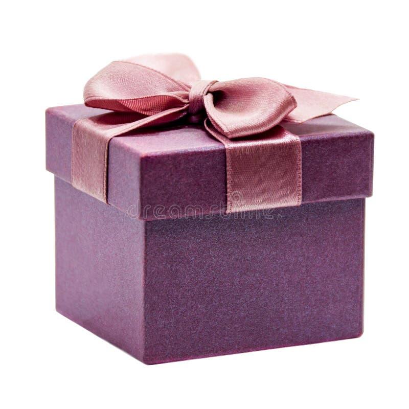 πορφυρή κορδέλλα δώρων κι στοκ φωτογραφία με δικαίωμα ελεύθερης χρήσης