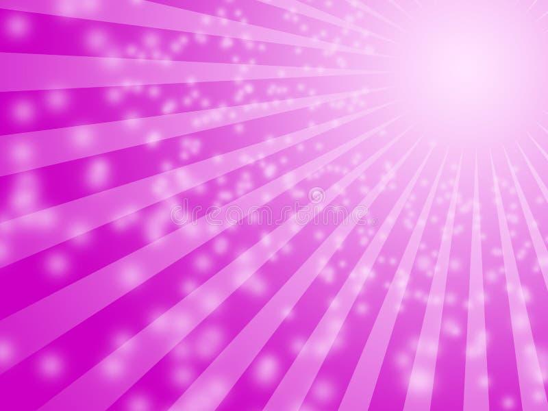 πορφυρός ήλιος βολβών αν&alp διανυσματική απεικόνιση