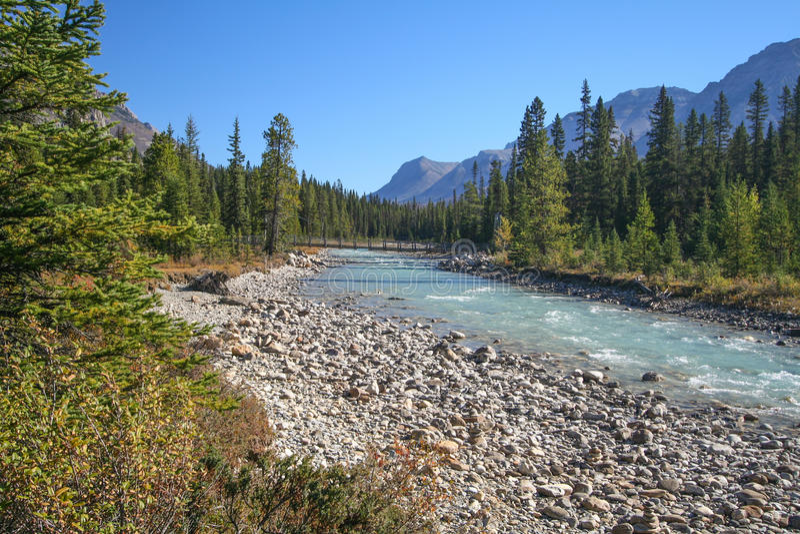 Πορφυρός ποταμός στοκ εικόνες