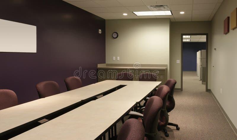 πορφυρός χώρος εργασίας &t στοκ εικόνες με δικαίωμα ελεύθερης χρήσης