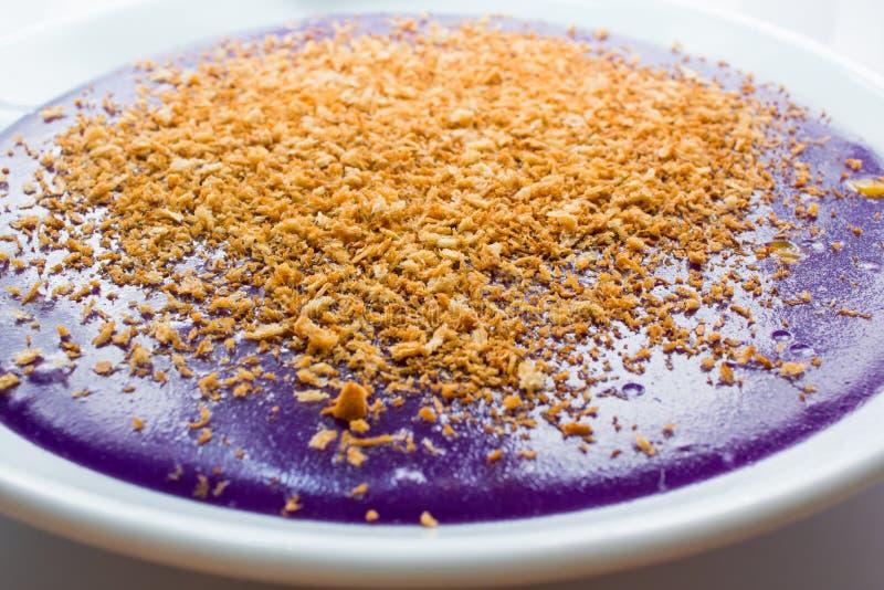 Πορφυρό κέικ ρυζιού στοκ φωτογραφίες