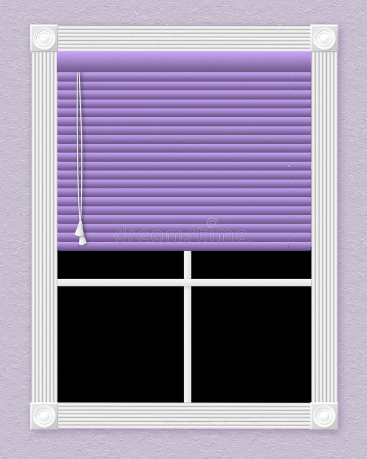 πορφυρό παράθυρο ελεύθερη απεικόνιση δικαιώματος