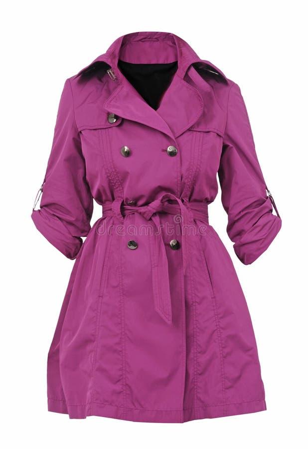 Πορφυρό παλτό στοκ φωτογραφία με δικαίωμα ελεύθερης χρήσης