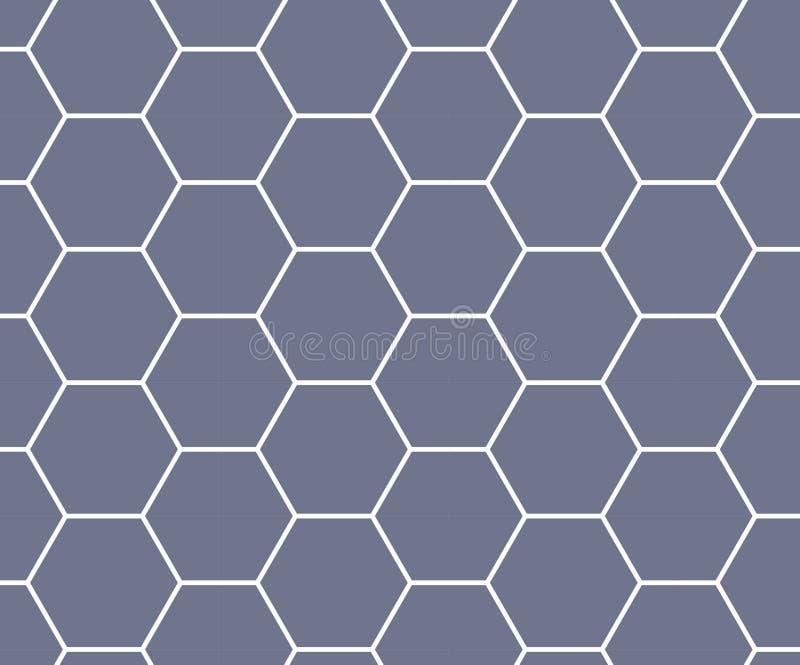 πορφυρό hexagon υπόβαθρο κυψελωτών σχεδίων ελεύθερη απεικόνιση δικαιώματος
