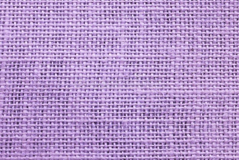 Πορφυρό sackcloth σύσταση ή υπόβαθρο στοκ φωτογραφία με δικαίωμα ελεύθερης χρήσης