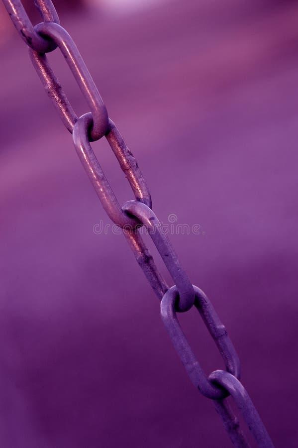 Download πορφύρα αλυσίδων στοκ εικόνα. εικόνα από ανασκόπησης, αποχής - 50657