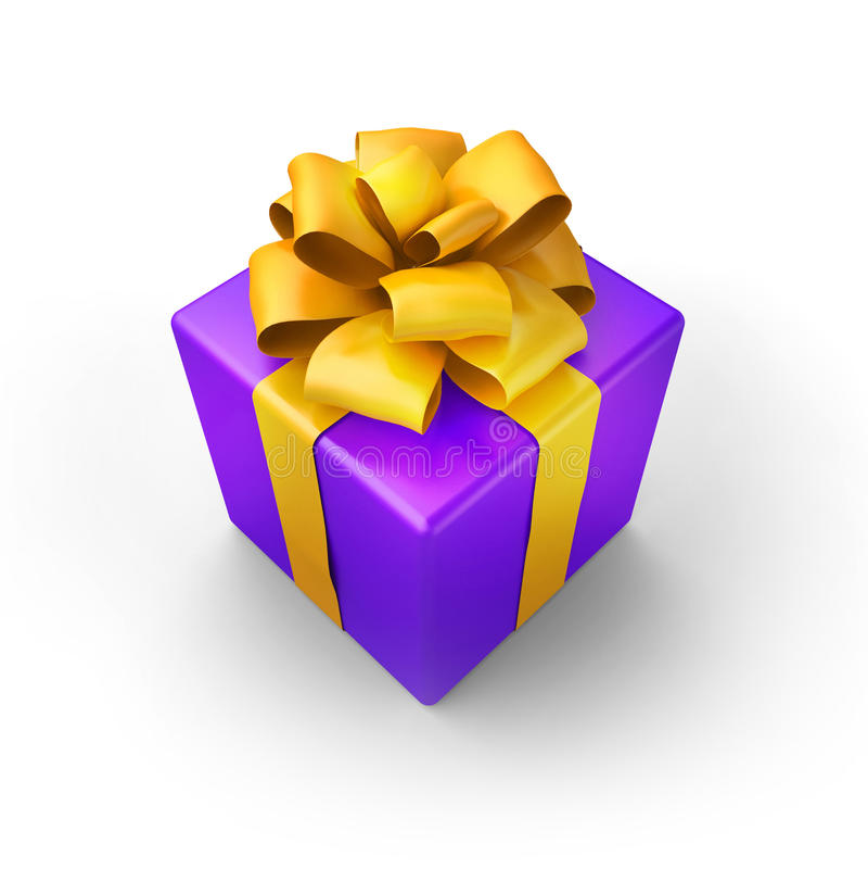Download πορφύρα δώρων απεικόνιση αποθεμάτων. εικονογραφία από πορφυρός - 17058039