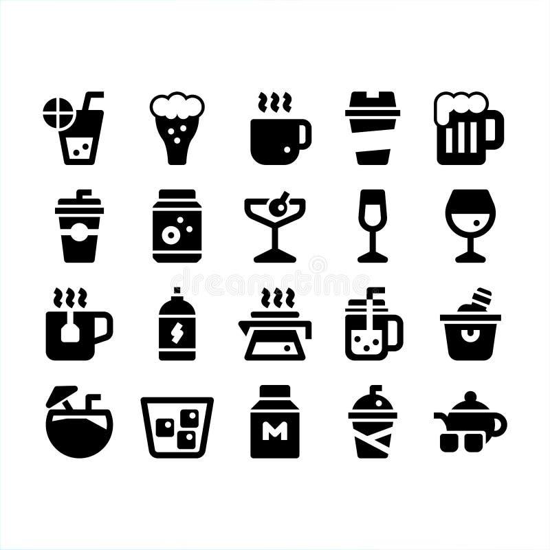 Ποτά και ποτό ελεύθερη απεικόνιση δικαιώματος