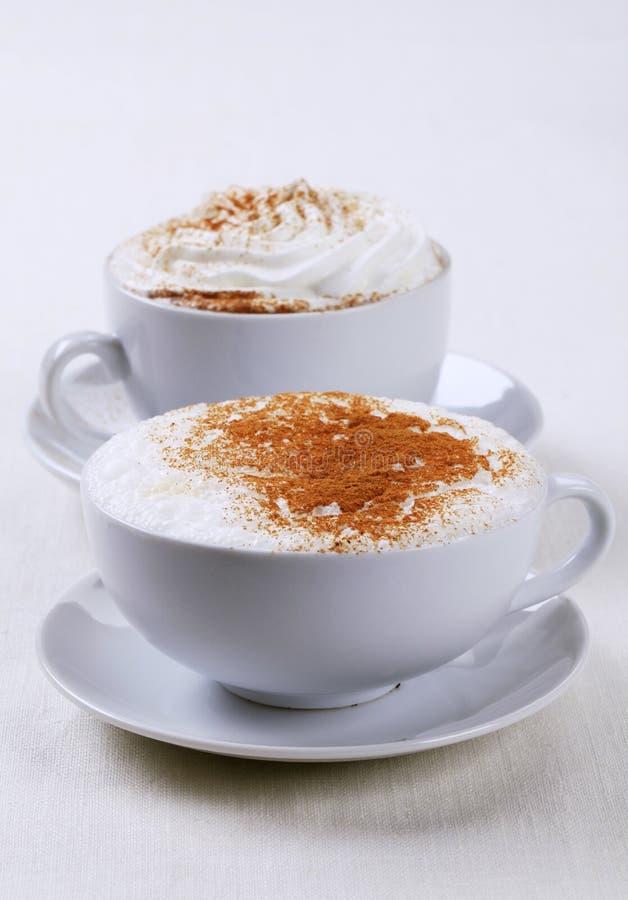 ποτά καφέ στοκ εικόνα