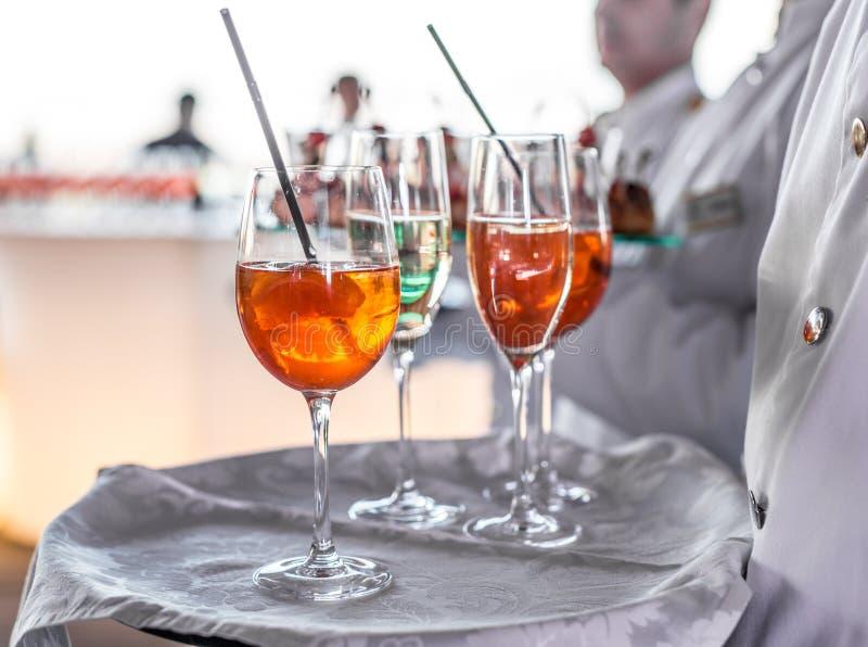 Ποτήρια του κρασιού στοκ φωτογραφία με δικαίωμα ελεύθερης χρήσης